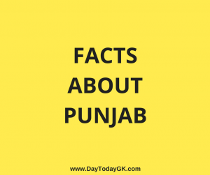 Facts about Punjab