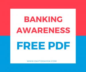 Banking Awareness Capsule