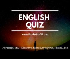 English Quiz
