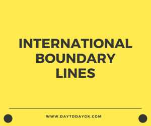 International Boundary Lines