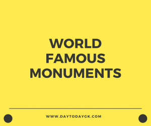 World Famous Monuments