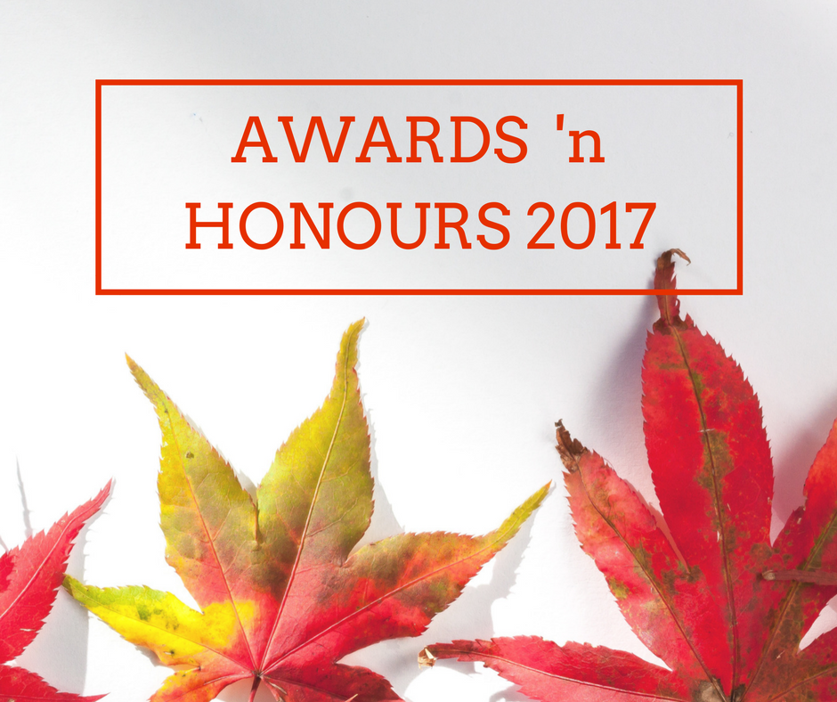 Awards and Honours 2017