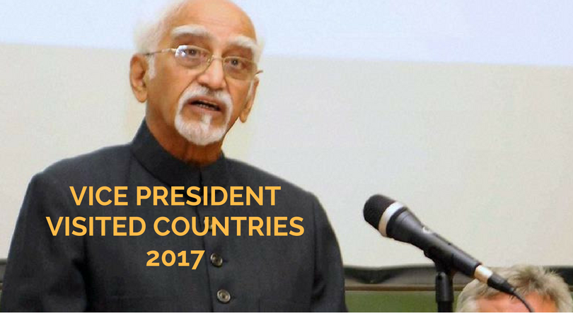 Vice President visited countries in 2017
