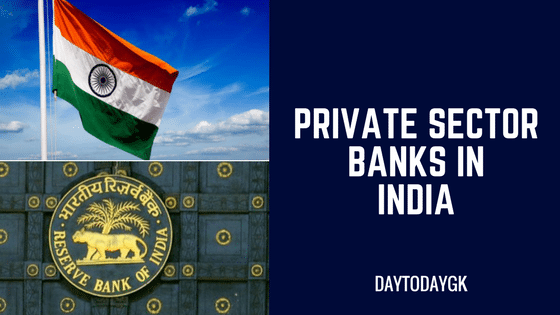 Private Sector Banks in India