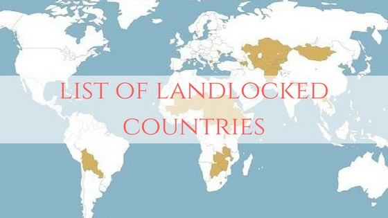 Landlocked Countries and Territories in the World