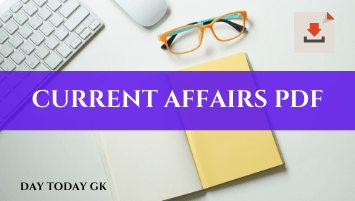 CURRENT AFFAIRS PDF
