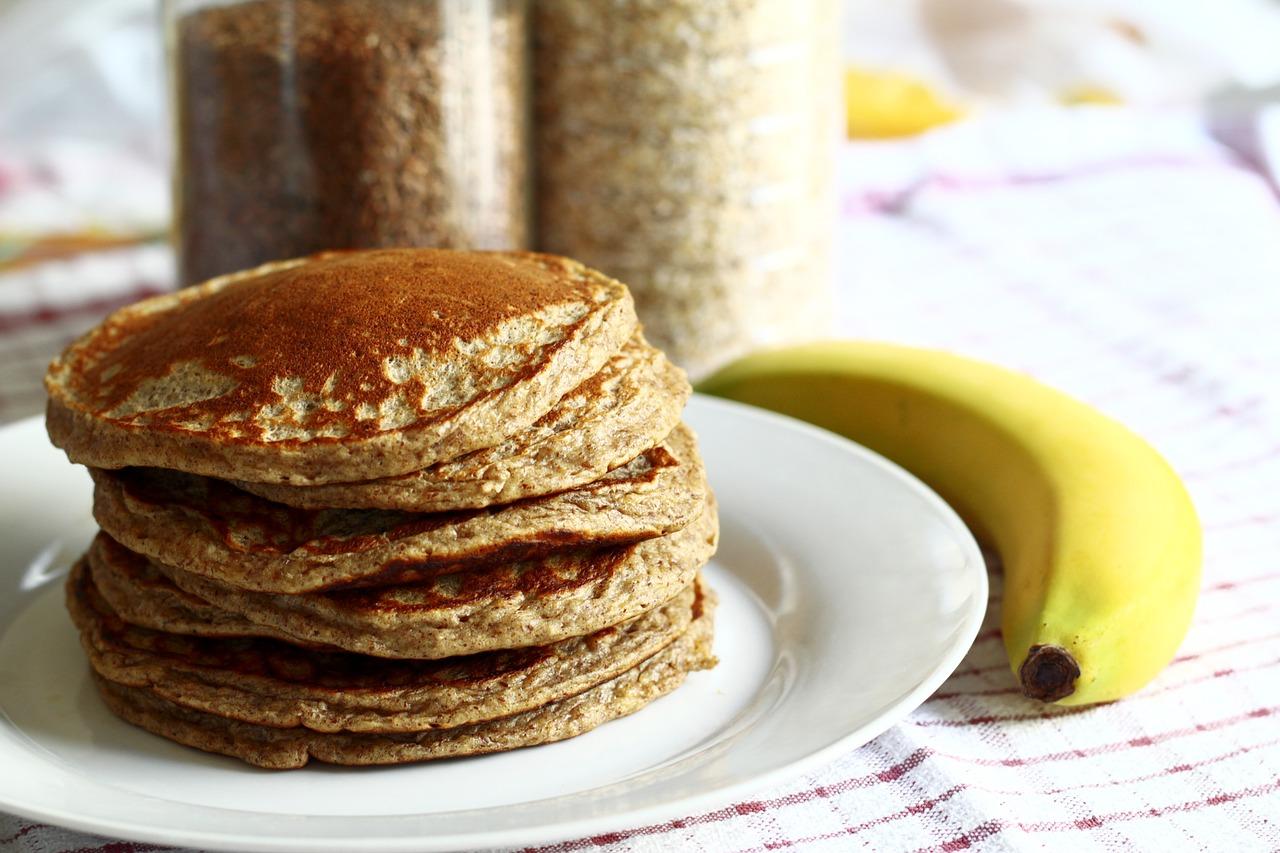 Buckwheat Banana Nut Pancakes