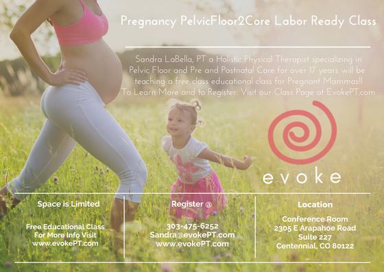 Pregnancy Pelvic Floor 2 Core Labor Ready Class