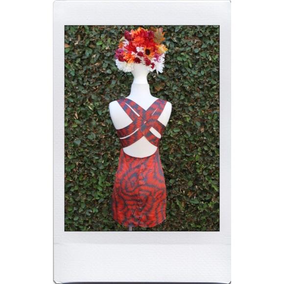 Poshmark Listing - Funky Strap Dress