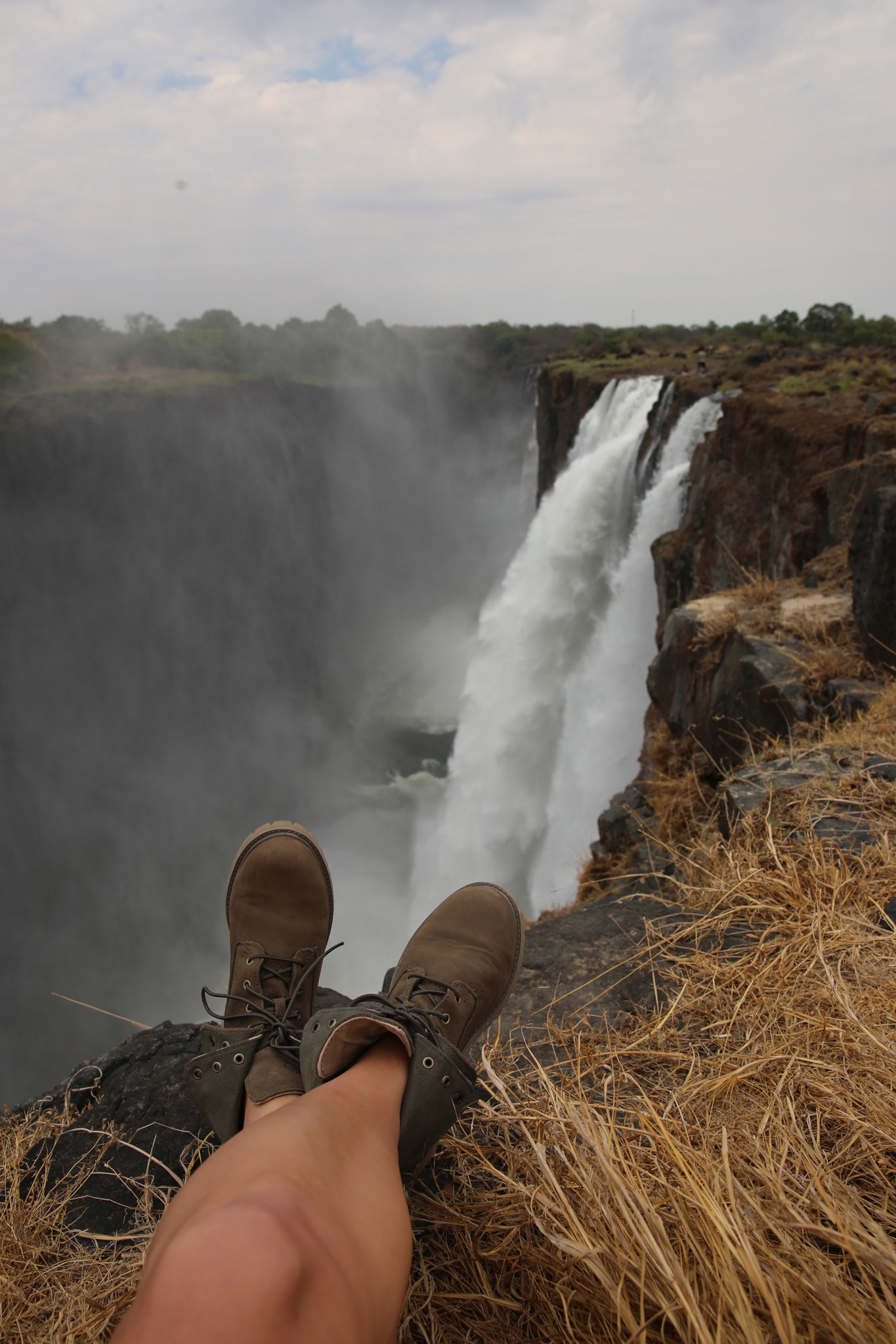 Devils Pool at Victoria Falls