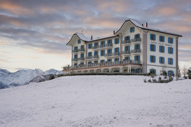 luxury suites in Switzerland, hotel villa honegg