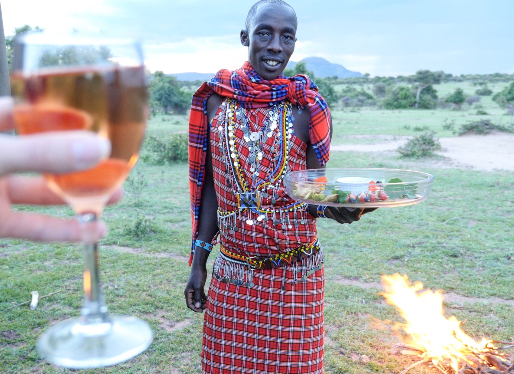 Cottars Safari Camp Maasai Guide