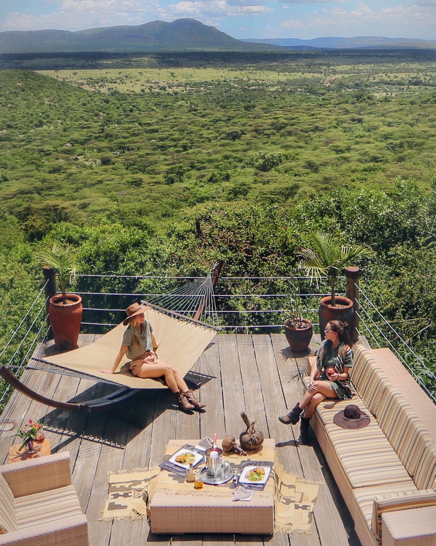 Cottars Safari Camp Bush Villa Deck