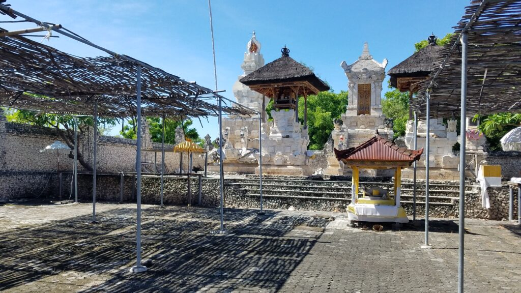 Hindu temple on Menjangan Island