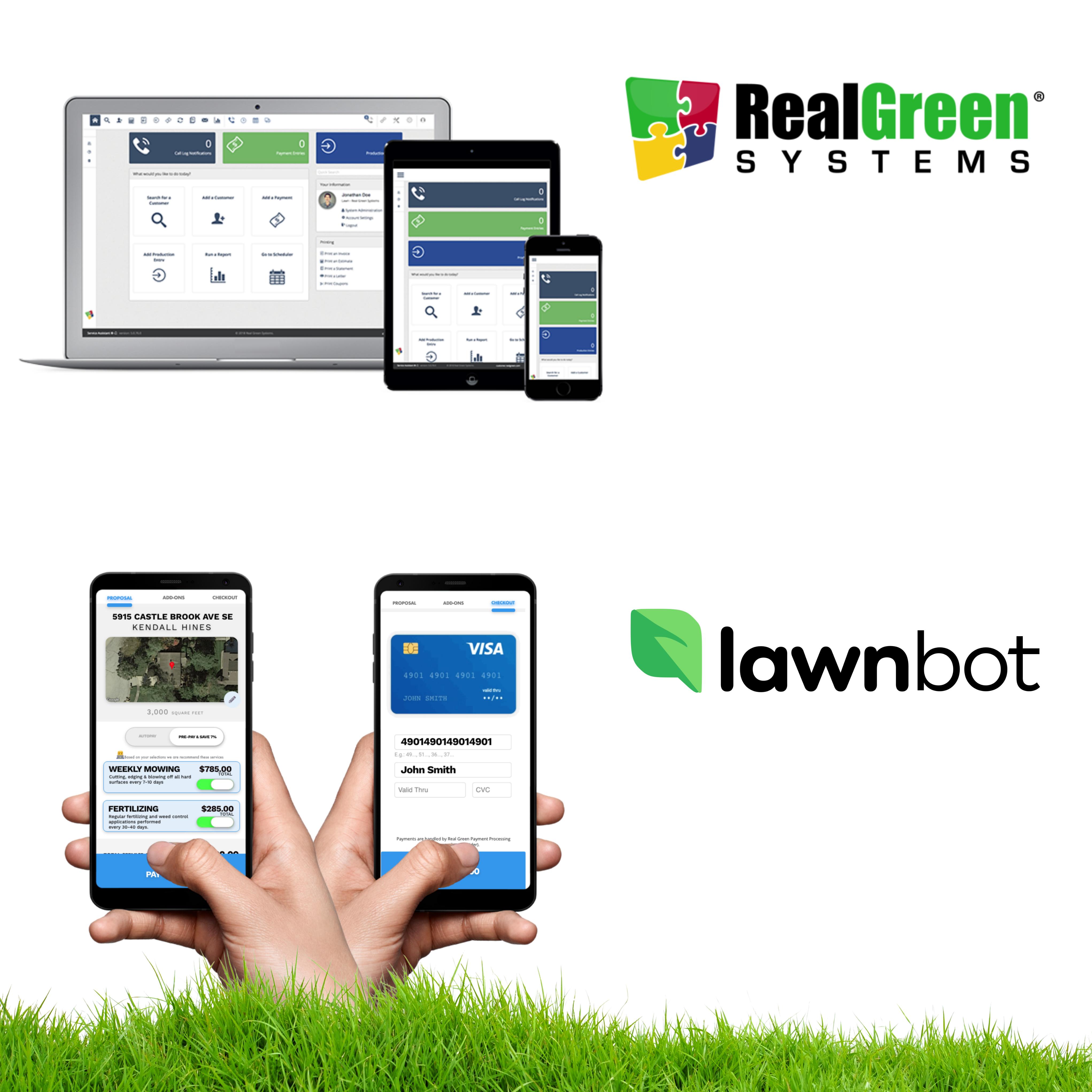 Real Green & Lawnbot Partner