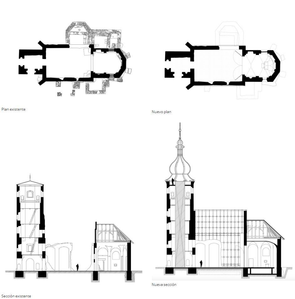 Restauración de la Iglesia de San Martín de Croacia con la ayuda de Archicad y BIMx inge 3d 3