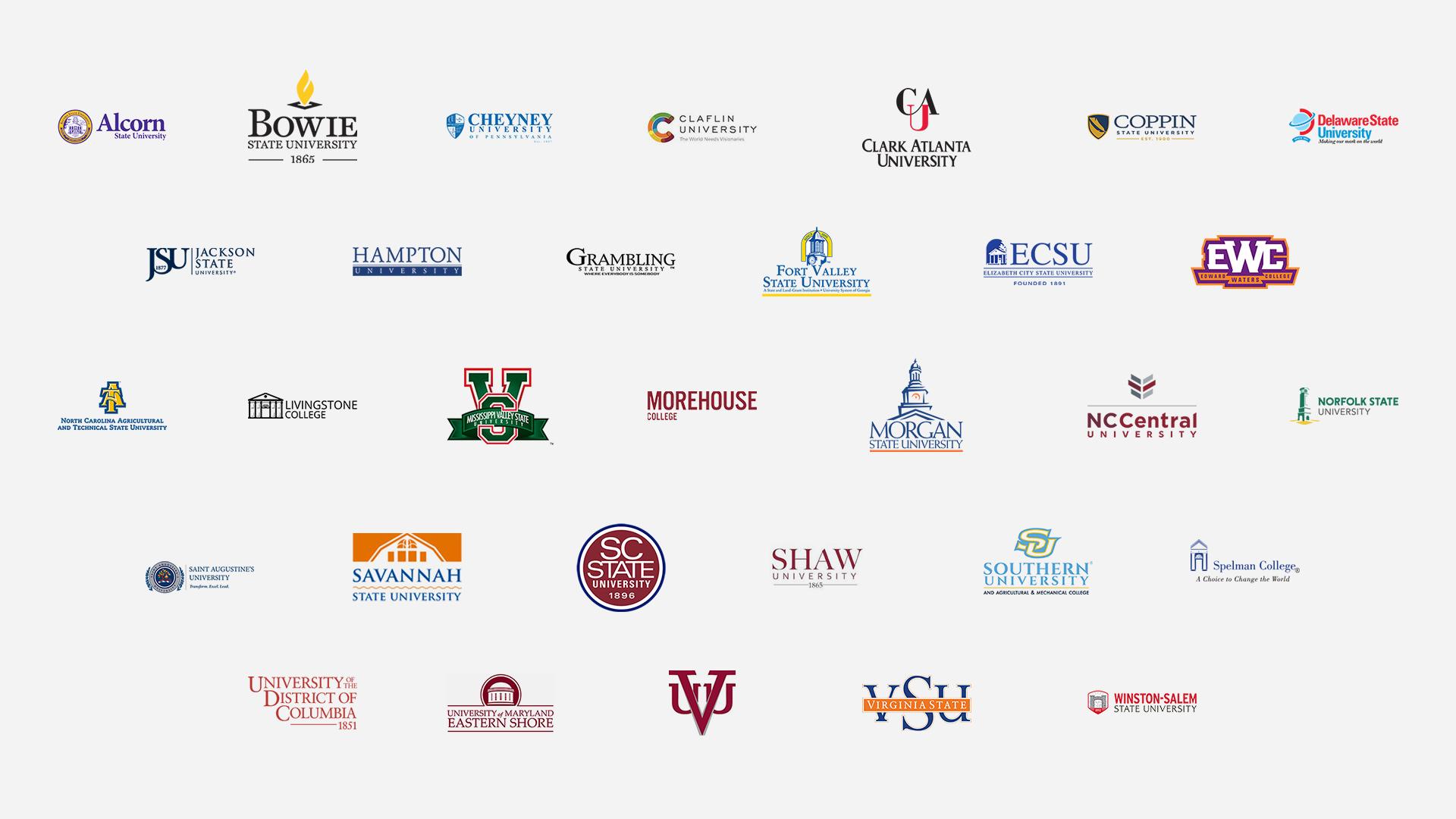 HBCU CDM 2019 Participating Schools