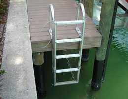 Retractable Dock Ladder