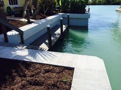 Boat Dock and Seawall