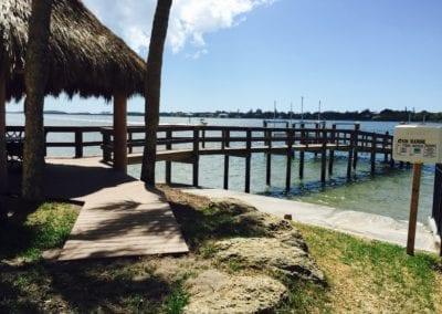Beachy Dock and Tiki Bar