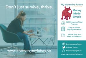 My Money My Future postcard