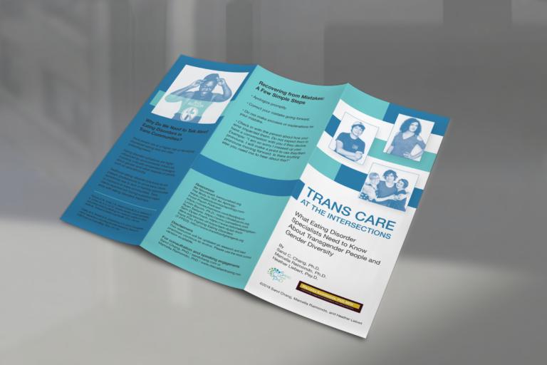 Tri-fold brochure design for a Psychology Educational Brochure