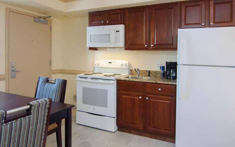 Efficiency Room kitchen