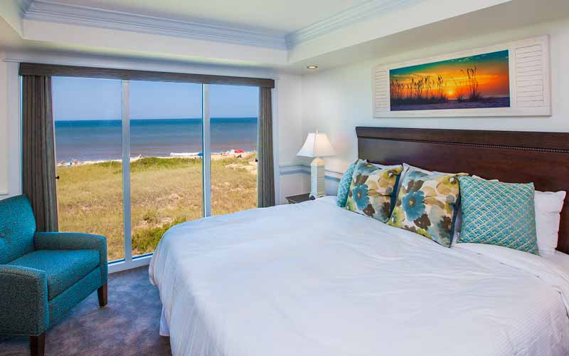 Sunrise Bedroom and Ocean View