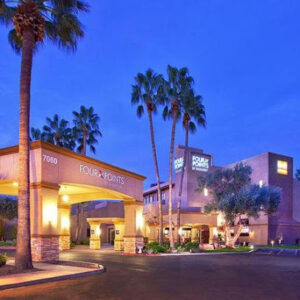Four Points by Sheraton Tucson Airport-Entrance