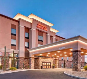 Hampton Inn by Hilton Marana-Entrance