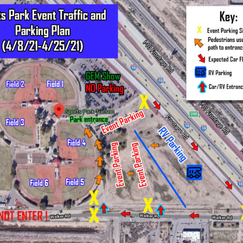 Event Parking for the Grand Canyon Spring Classic