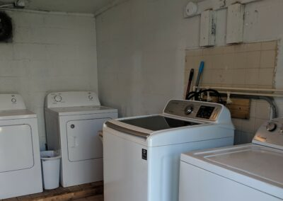 New River Gorge Campground free laundry to use