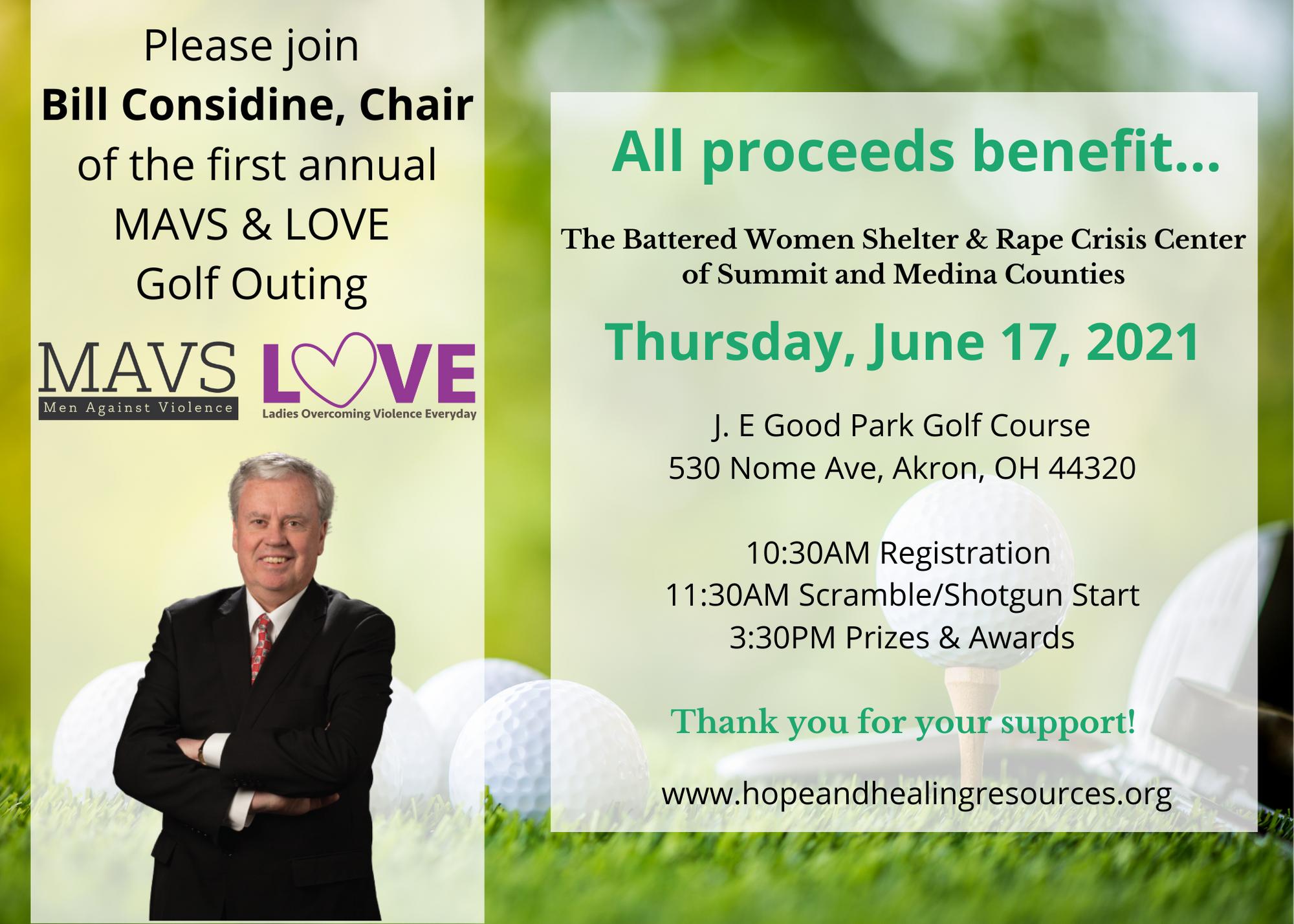 MAVS & LOVE Golf Outing 2021