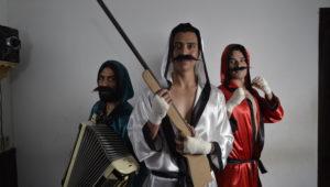 Imágenes promocionales de Knockout, cortesía de Paralelo Teatro.