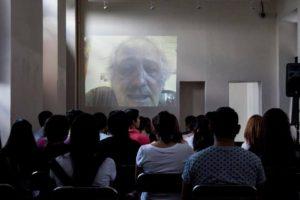 Videoconferencia con Roberto Frabetti. Foto: Fitpa.