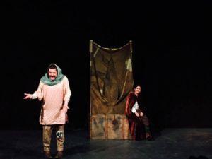 Función de Ñaque en el Teatro Jaime Torres Bodet. Fotografía: Susana del Real.