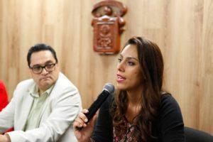 Gabriela Escatel, coordinadora de Teatro en la Secretaría de Cultura Jalisco. Foto: FB Cultura Jalisco.