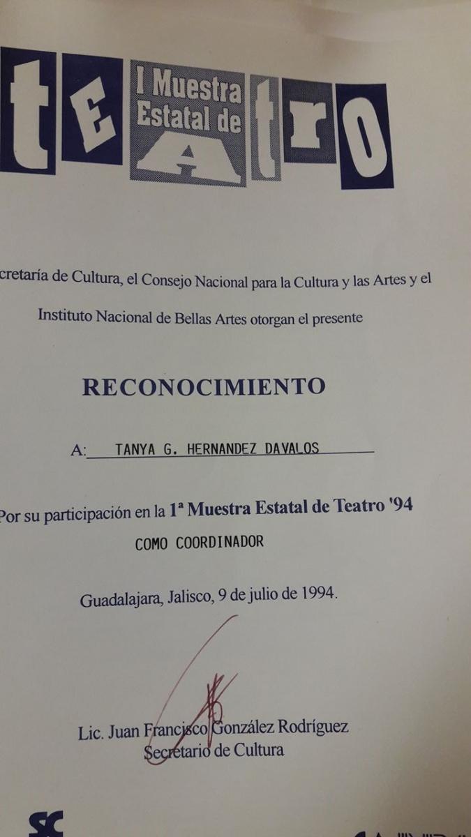 1994 I Muestra (1)