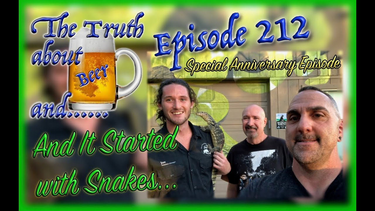 TTABA…..Anniversary Episode – It Started with Snakes