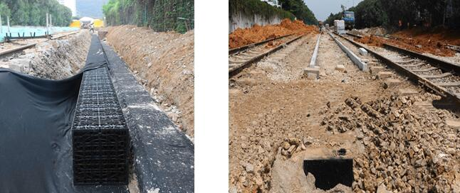 GSTanks Case: Infiltration System of Xiamen Railway Cultural Park