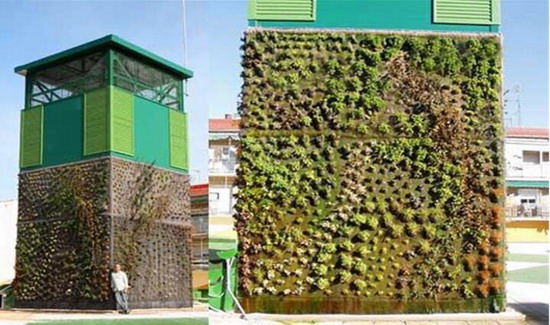 Three-dimensional greening landscape revelation