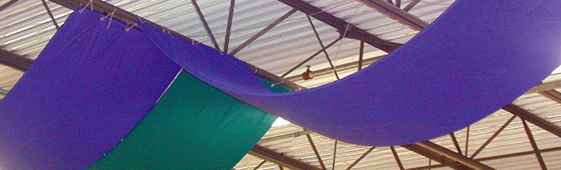 Catenary Acoustic Banners