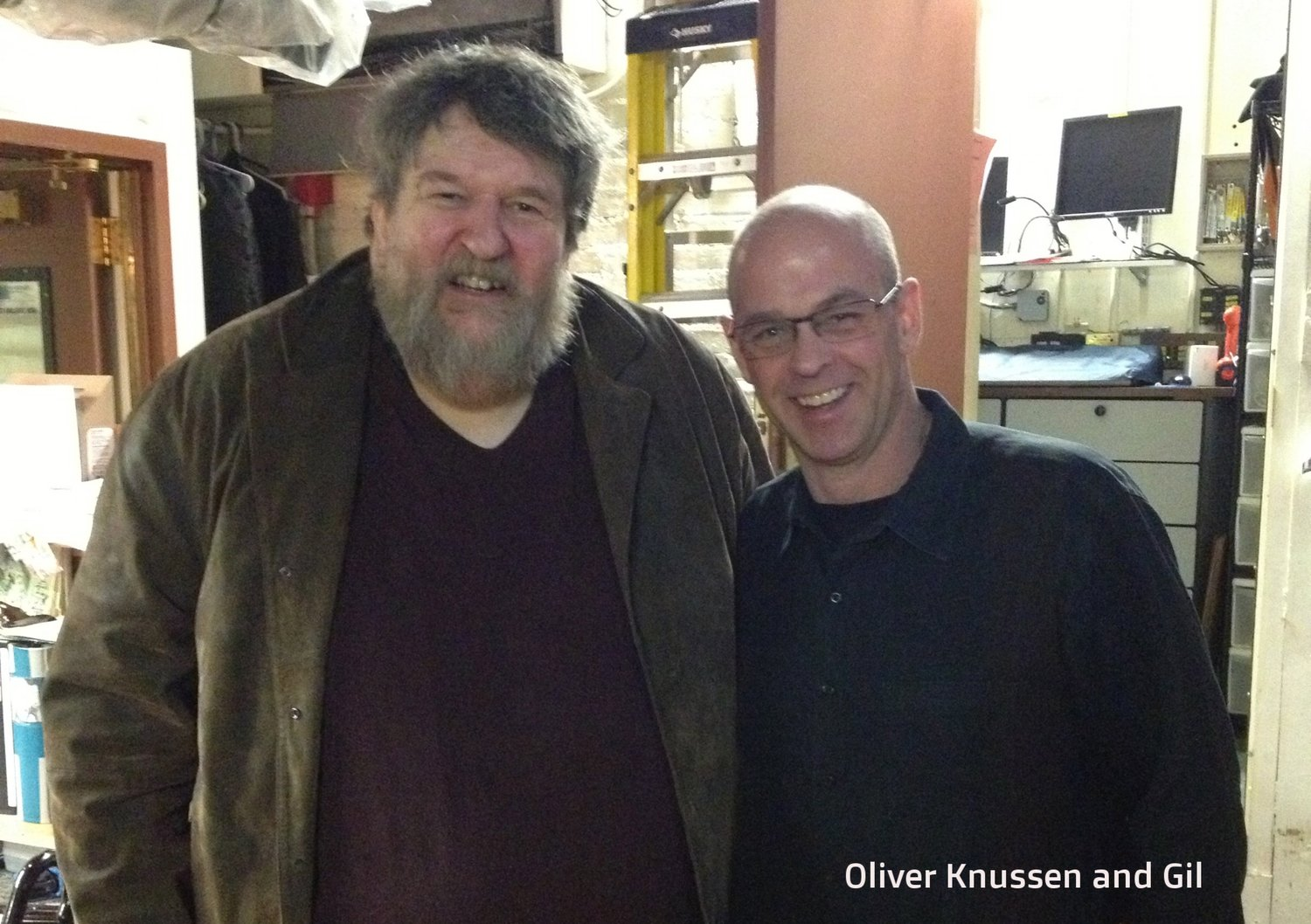 Oliver Knussen and Gil