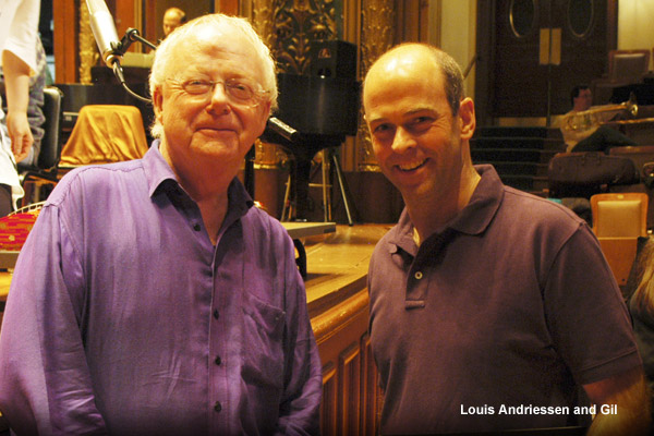Louis Andriessen and Gil