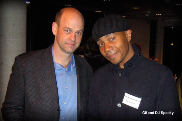 Gil and DJ Spooky