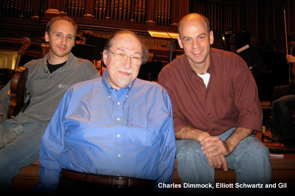 Charles Dimmock, Elliott Schwartz and Gil