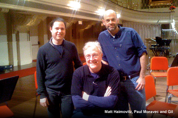 Matt Haimovitz, Paul Moravec and Gil
