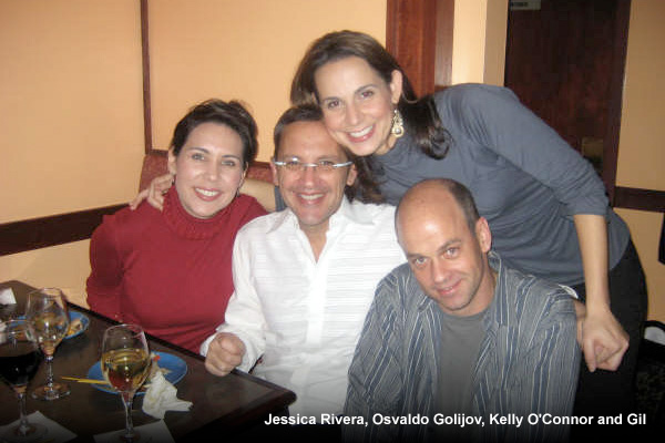 Jessica Rivera, Osvaldo Golijov, Kelly O'Connor and Gil
