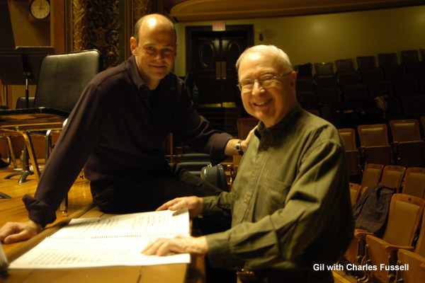 Gil with Charles Fussell