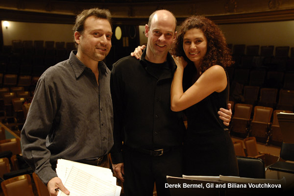 Derek Bermel, Gil and Biliana Voutchkova